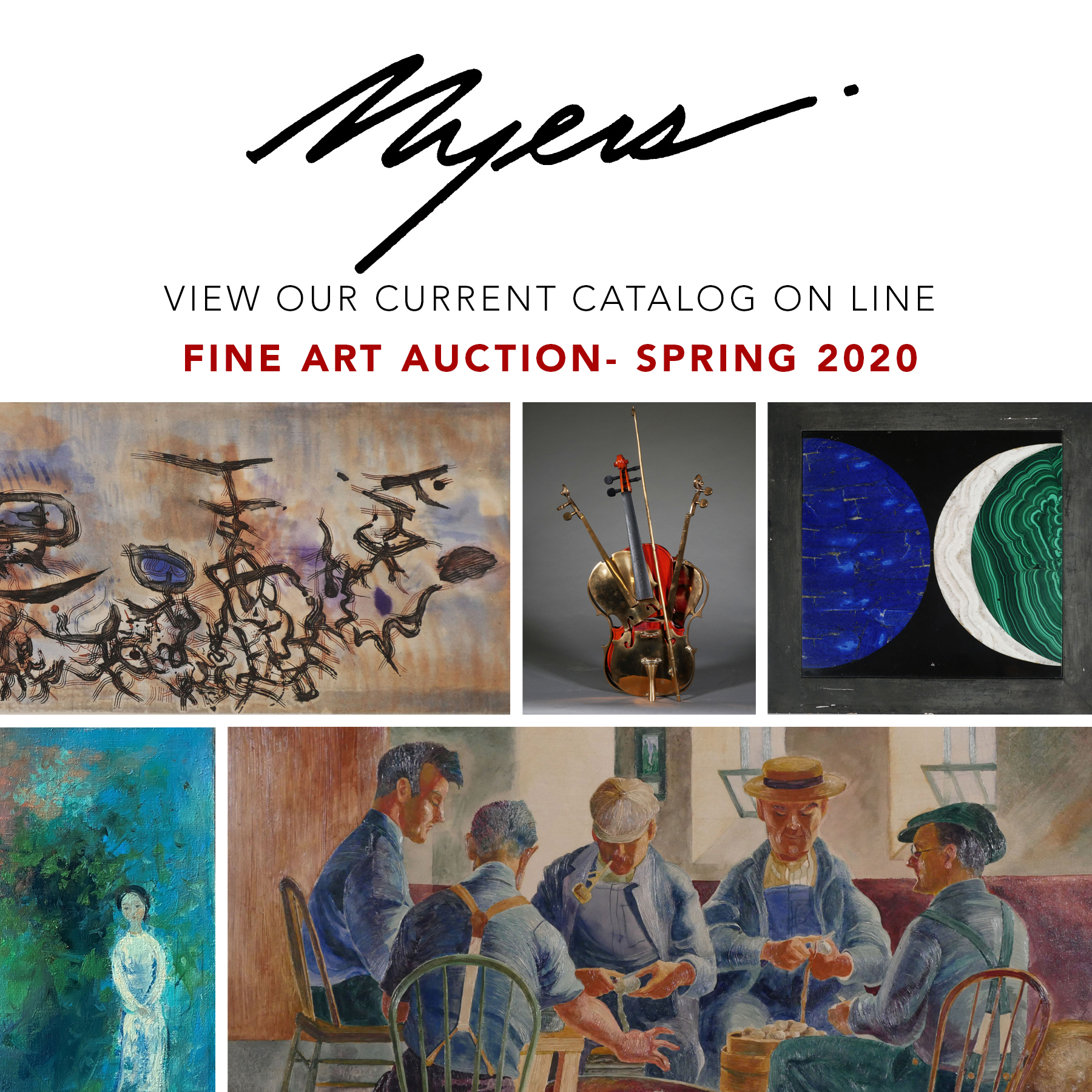 Myers Current Auction Spring 2020